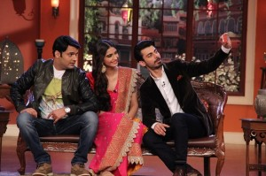 Sonam Kapoor and Fawad Khan With Kapil Sharma