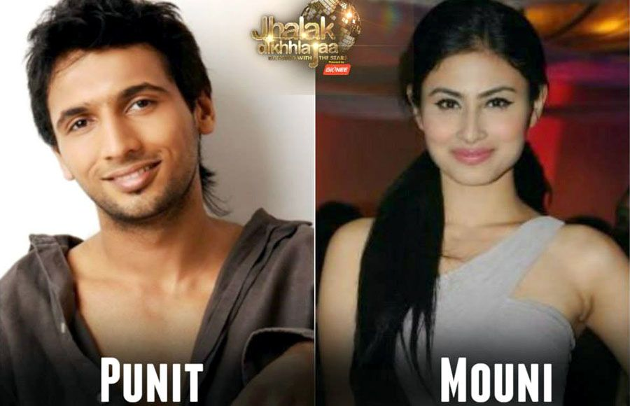 Mouni Roy and Punit Pathak