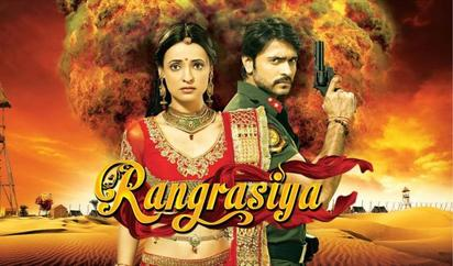 Sanaya Irani and Ashish Sharma in Rangrasiya