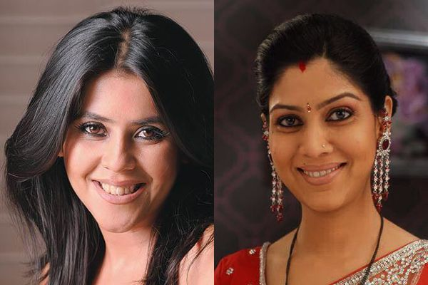 Ekta Kapoor and Sakshi Tanwar