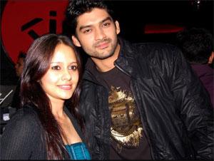 Aditya Redij and Natasha Sharma