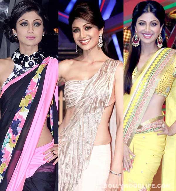 Shilpa Shetty Sari