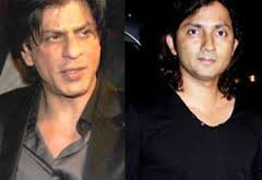Shirish Kundar and SRK