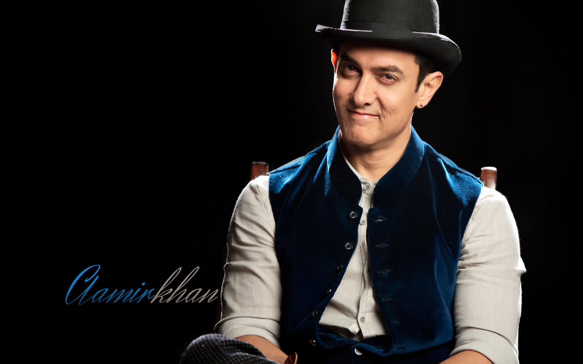 Aamir khan in dhoom3