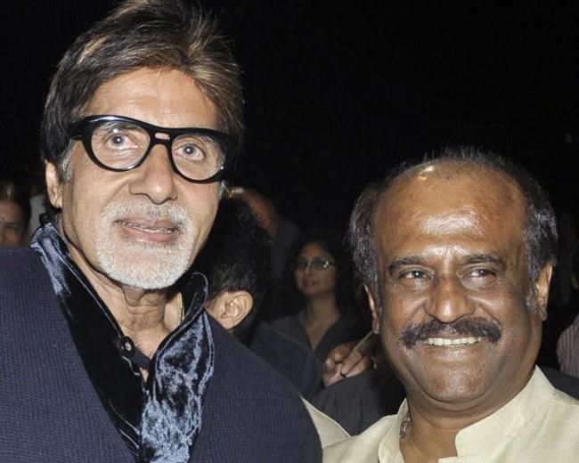 Big B, Rajinikanth Amitabh Bachchan