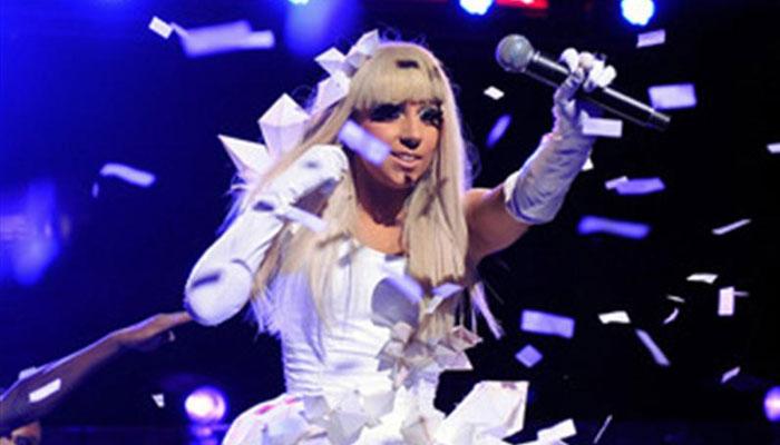 Lady Gaga quirky dress