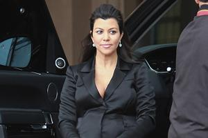 TV star Kourtney Kardashian