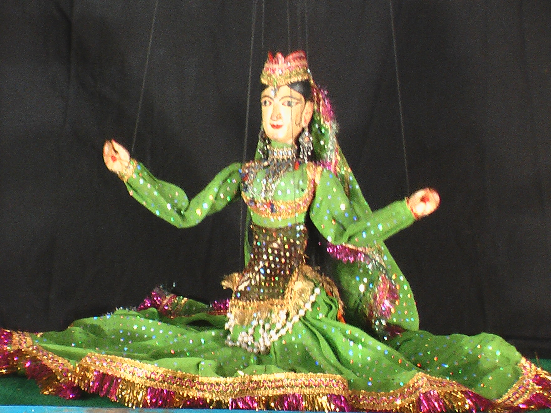 Traditional Bengal puppetry