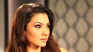 Actress Gauahar Khan